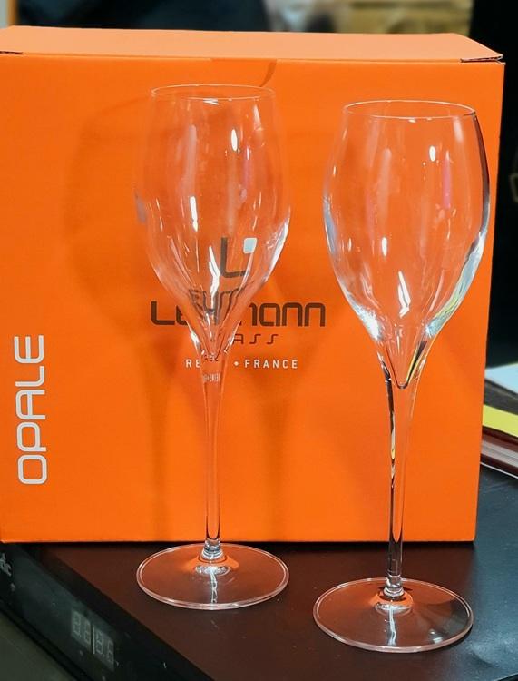 opale champagneglas lehmann 17 cl glas maskintillverkad vinkällarbutiken
