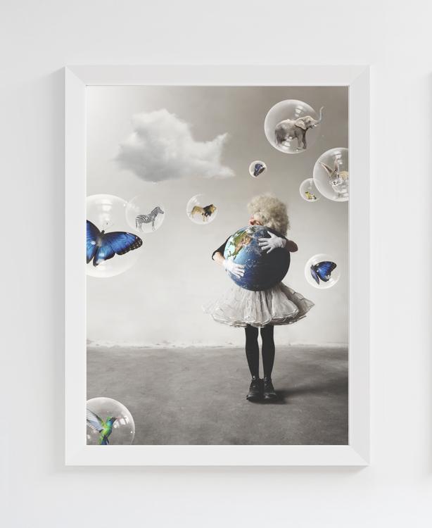 Jorden/Earth - Art print 30x40 cm