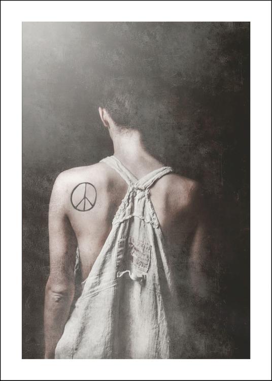 PEACE - Art print 50x70 cm - Limited Edition