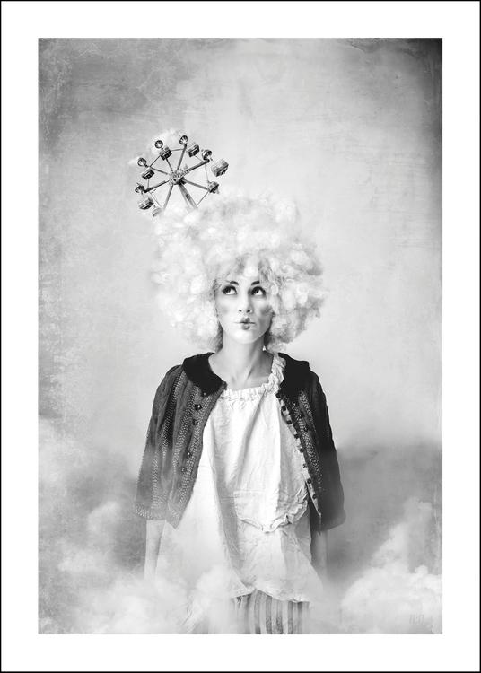 CALLIOPE - Art print 50x70 cm