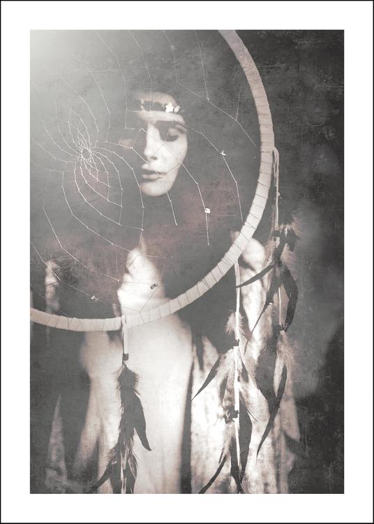 Dreamcatcher, art print 50x70 cm