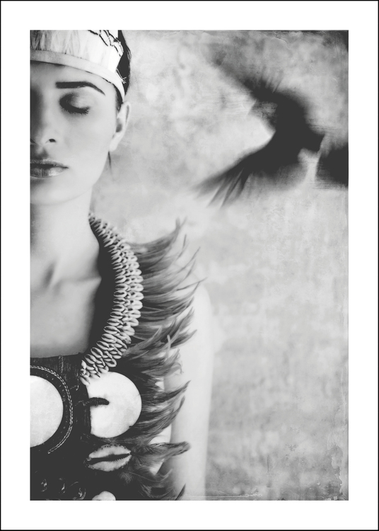 MANICHEE - Art print 50x70 cm - Limited Edition