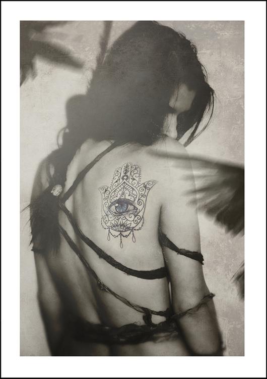 Hamsa, art print 21x30 cm