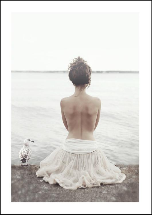 Ballerina, art print 21x30 cm