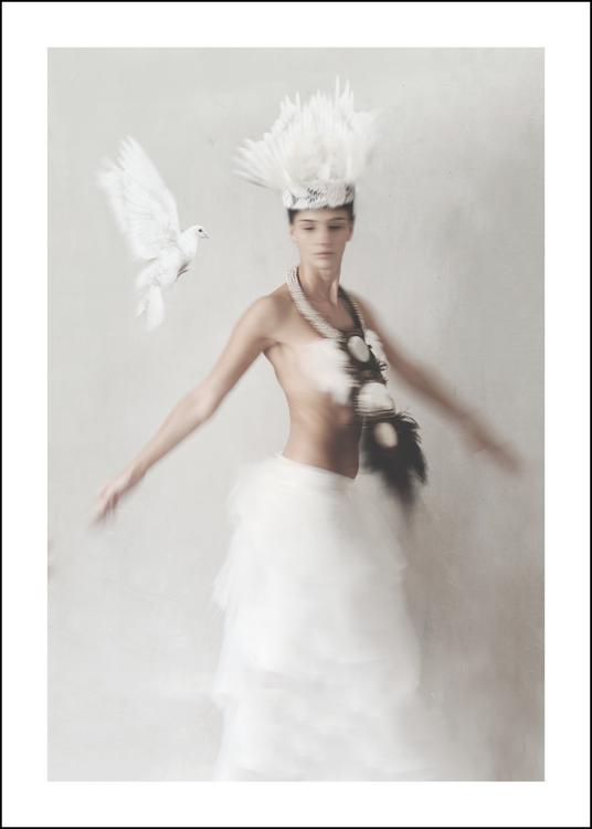 ELYSIA - Art print 50x70 cm