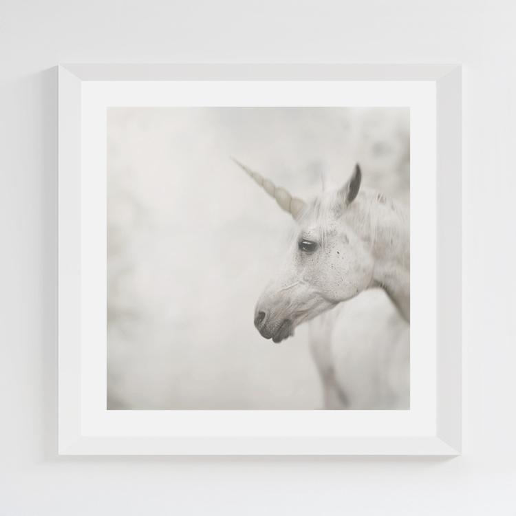 Unicorn print 22,5x22,5 cm