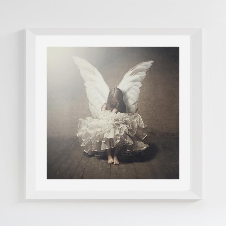 Little Angel print 22,5x22,5 cm