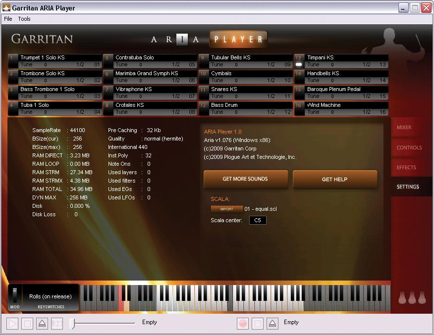 Garritan Personal Orchestra