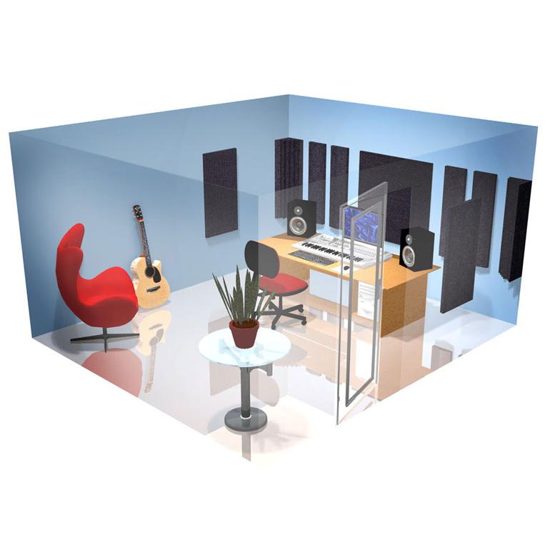 Golden Age Acoustics Blue Room