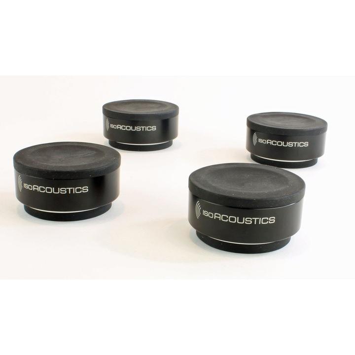 IsoAcoustics Iso-puck vibrationsdämpare under högtalare