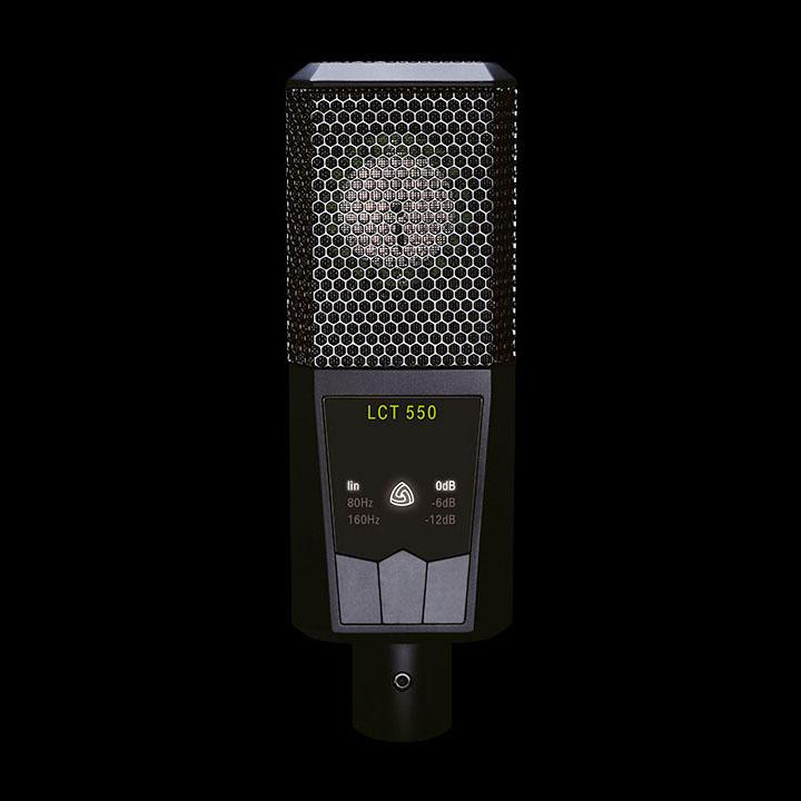 Lewitt LCT 550 lågbrusig stormembrans kondensatormikrofon