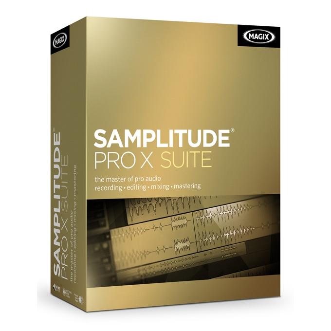 Magix Samplitude Pro X Suite Crossgrade