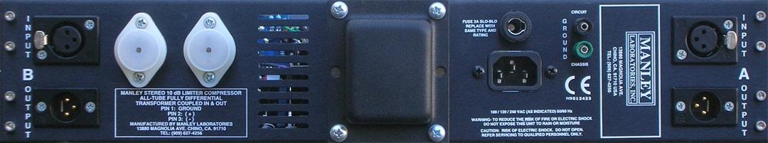 Manley Variable Mu rörbestyckad kompressor