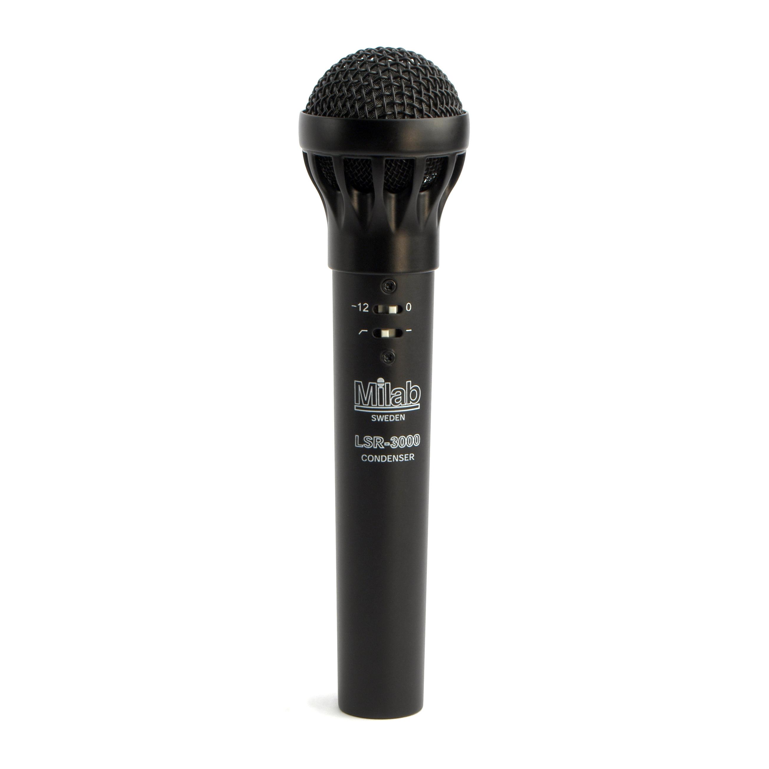 Milab LSR-3000 handhållen kondensatormikrofon