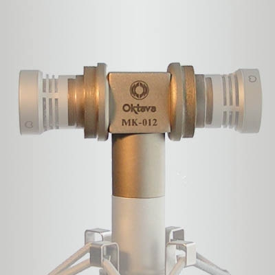 Oktava MK012 Figure-8 adapter