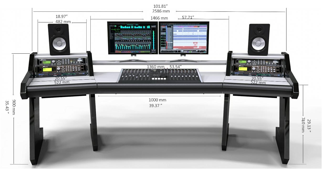 StudioDesk Pro Line Desk