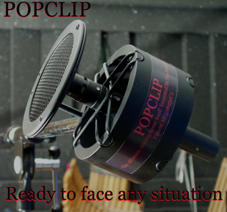 Pop Productions PopClip, Side-address