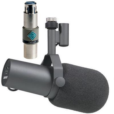 Shure SM7B + Triton Audio FetHead