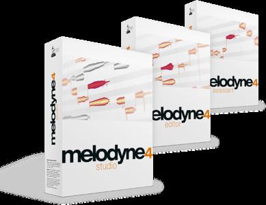 Celemony Melodyne Assistant -> Studio 4 upgrade