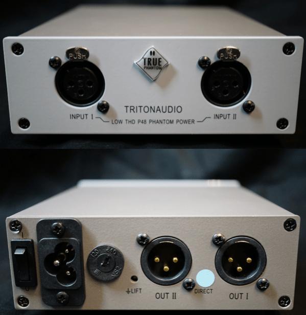 Triton Audio True Phantom fantommatning