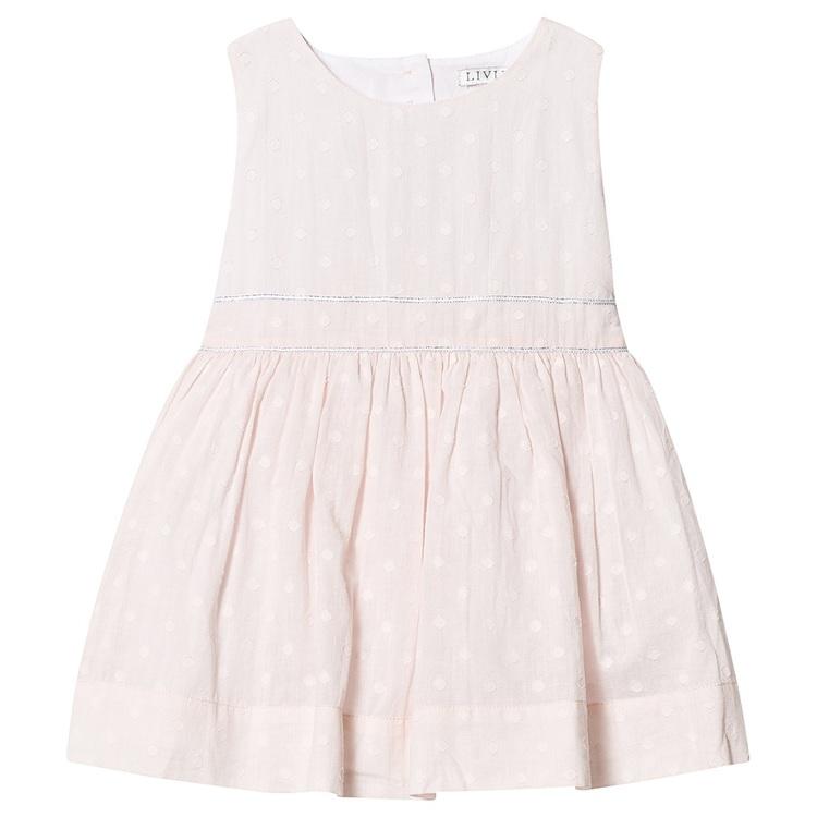 Livly Dots Alicia Dress Pink Dots