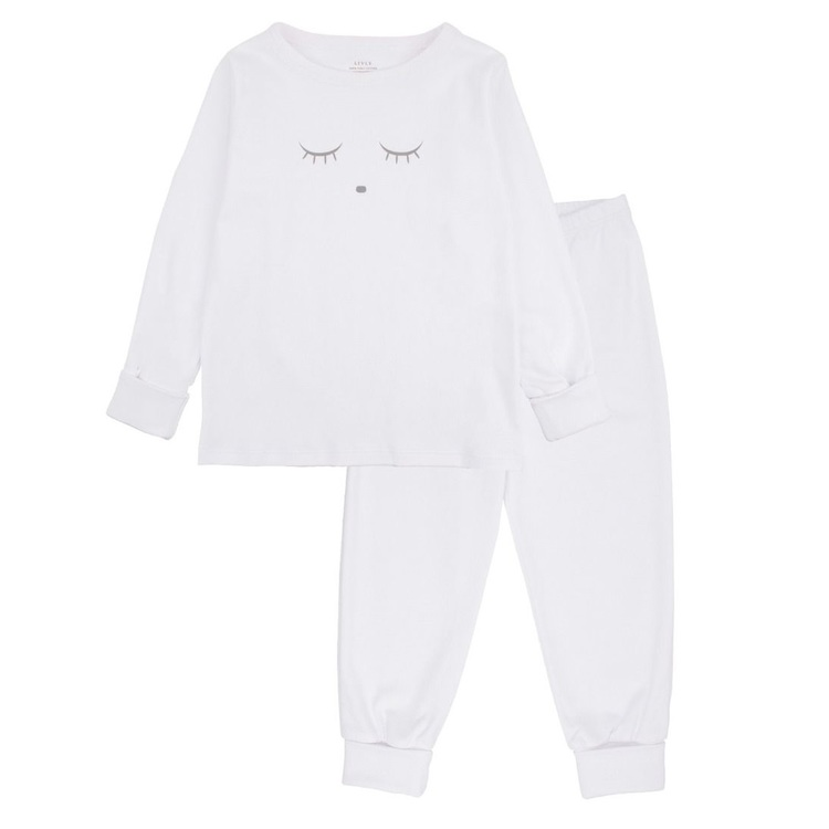 Livly Sleeping Cuite 2 Piece Set White / Grey