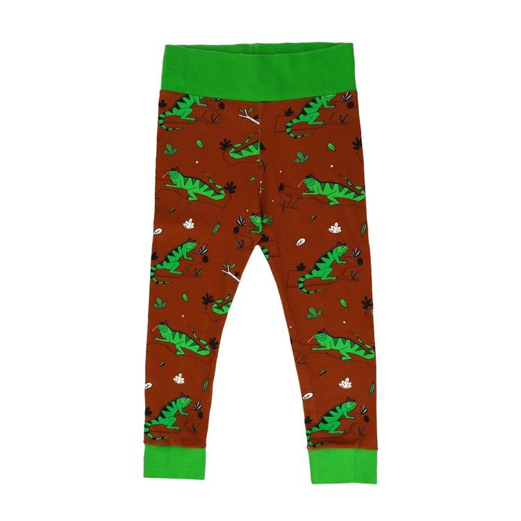 Raspberry Republic Baggy Pants – Ignacio the Iguana Brown