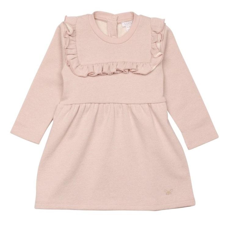 Livly Kinga Dress Mauve Rose Glitter