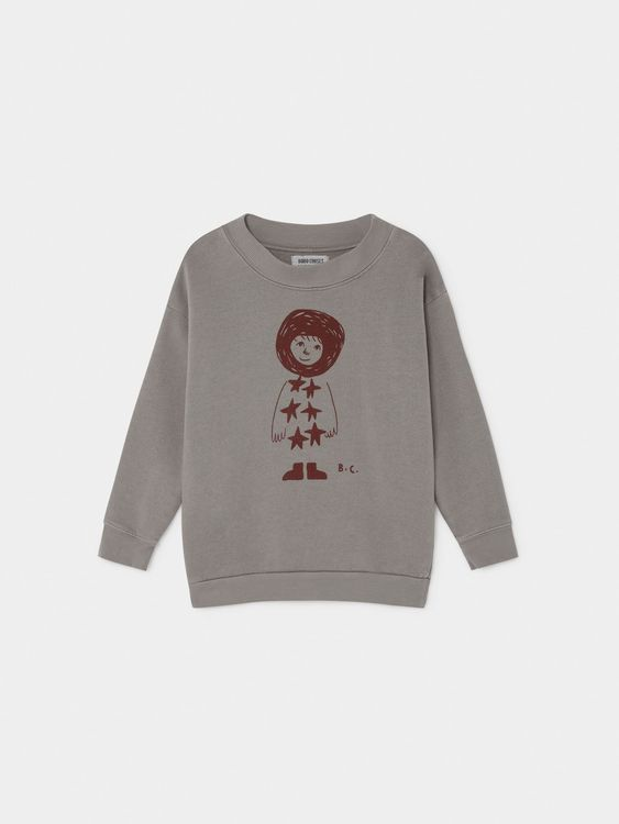Bobo Choses Starchild Sweatshirt Drizzle