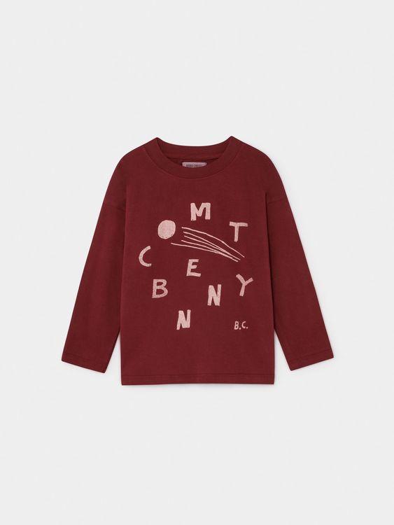 Bobo Choses Comet Benny Long Sleeve T-Shirt Iceberg