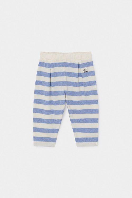 BOBO CHOSES B.C. Striped Jersey Trousers