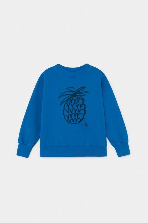 BOBO CHOSES Pineapple Sweatshirt Azure Blue