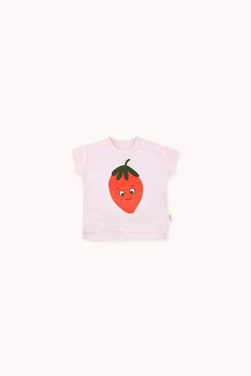 TINYCOTTONS Strawberry Tee Light pink/Red
