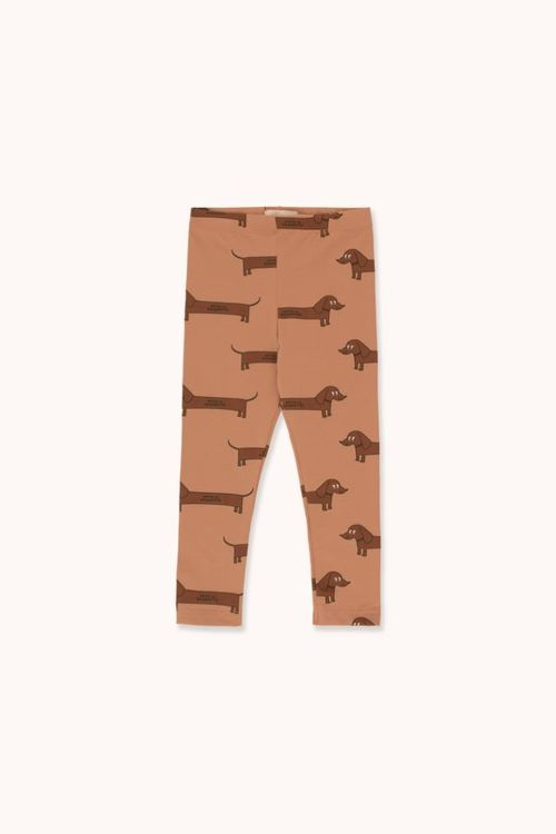 TINYCOTTONS Il Bassotto Pant Tan/Dark Brown