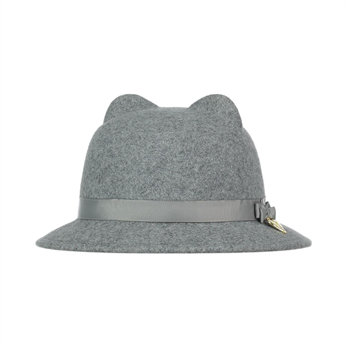 Angel's Face Mouse Hat Grey