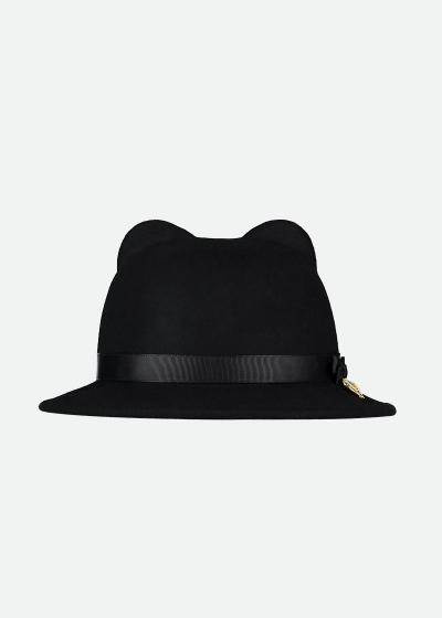 Angel's Face Mouse Hat Black