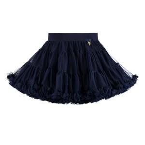 Angel's Face Charm Tutu Skirt Navy