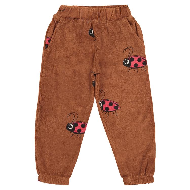 Hugo Loves Tiki Terry 80's Sweat Pants Brown Ladybug