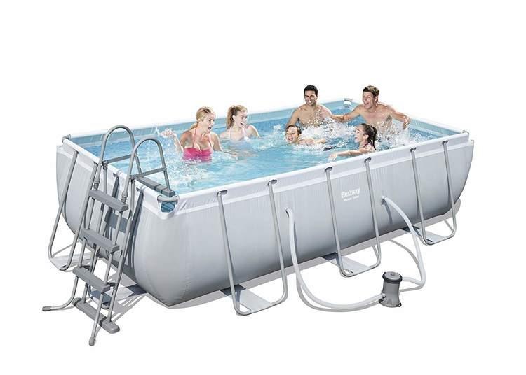 Bestway Power Steel Frame Pool 404x201x100 cm (56441)