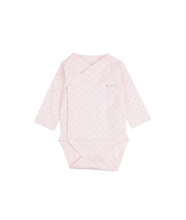 Livly Saturday Crossed Body Pink Gold Dots