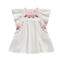Louise Misha Dress Vanilla White