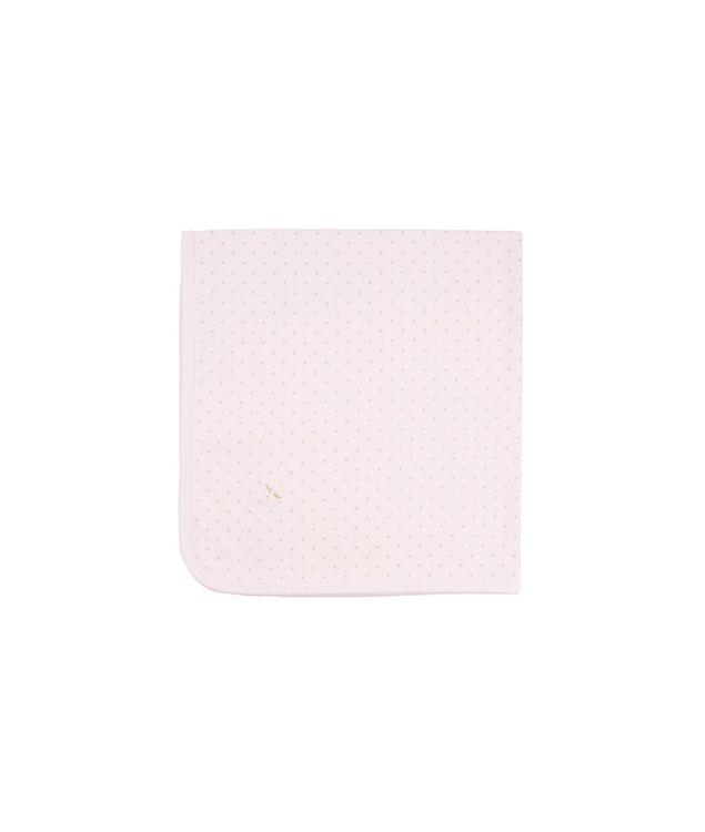 Livly Saturday Blanket Pink Gold Dots