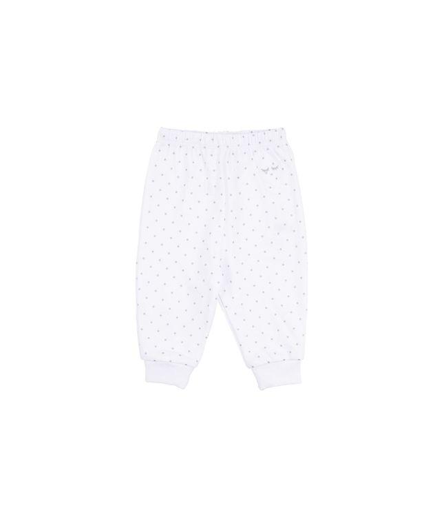 Livly Saturday Pants White Silver Dots