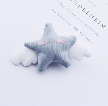 Hårspännen Stjärna Blå