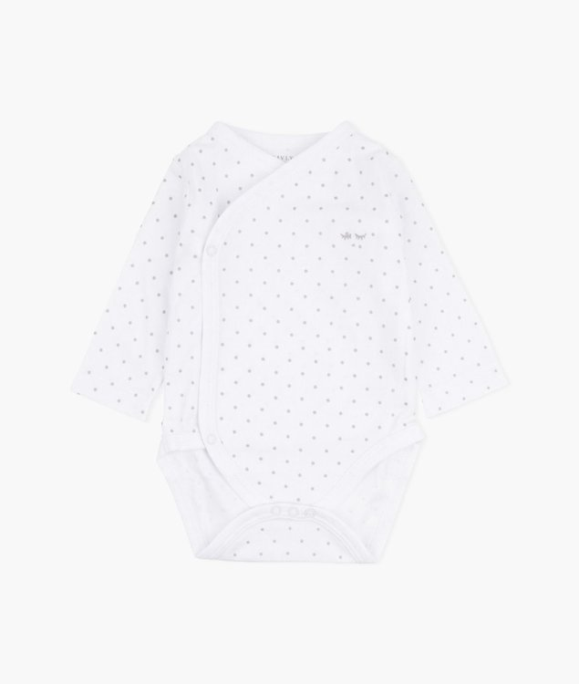 Livly Saturday Crossed Body White/Silver Dots