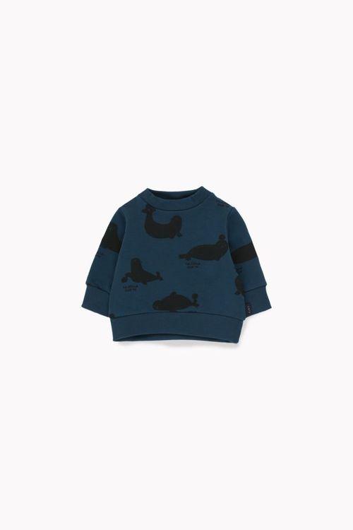 Tinycottons Seals Sweatshirt True Navy