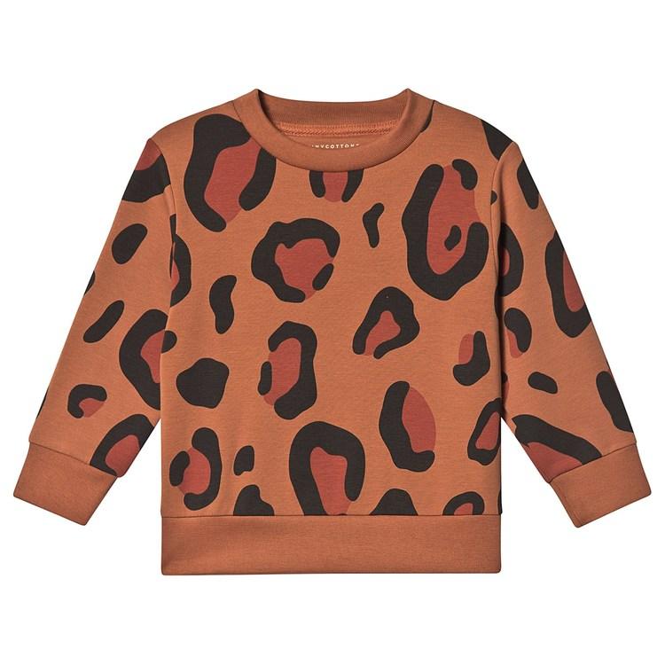 Tinycottons Animal Print Sweatshirt Brown