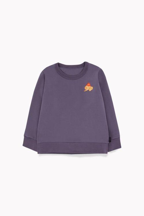 Tinycottons Luckyphant Sweatshirt Dark Lilac