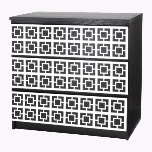 Loa - möbeldekor till Malm byrå
