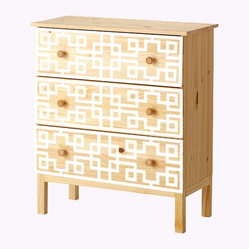 Grace - furniture decor for IKEA Tarva dresser